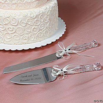 Wedding Gift: Personalized Cake Cutting Set