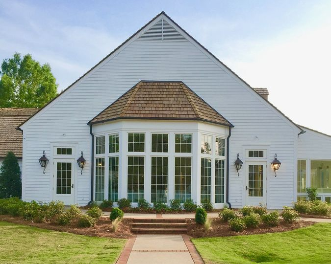 Exterior view of the Weddings at Pursell Farms