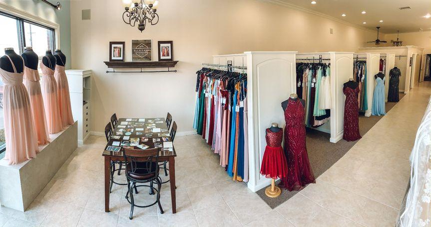 Bridesmaid section