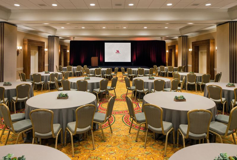 Our Hall of Cities Ballroom offers plenty of space and can accommodate your ceremony and reception...