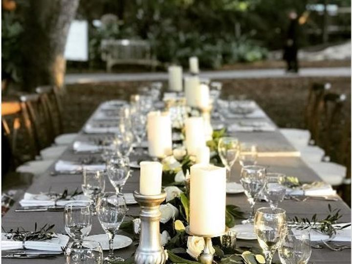 Tmx 1516308172 833a06f24a02035f Jennifer Matteo   Selby Gardens   Satin Platinum Sarasota, Florida wedding rental