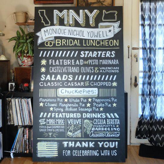 bridal chalk