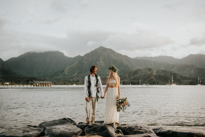 Kauai Hawaii Elopement