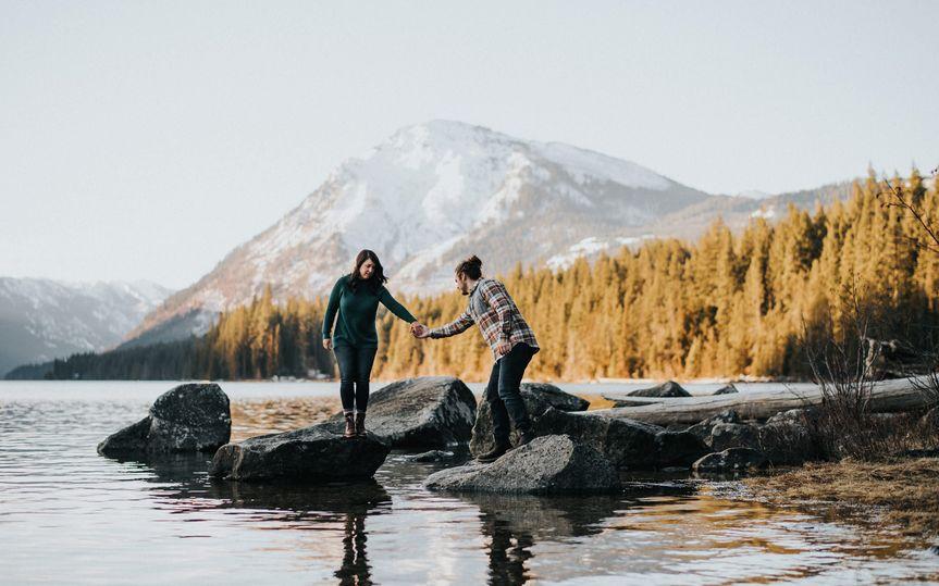 Lake Wenatchee Engagement