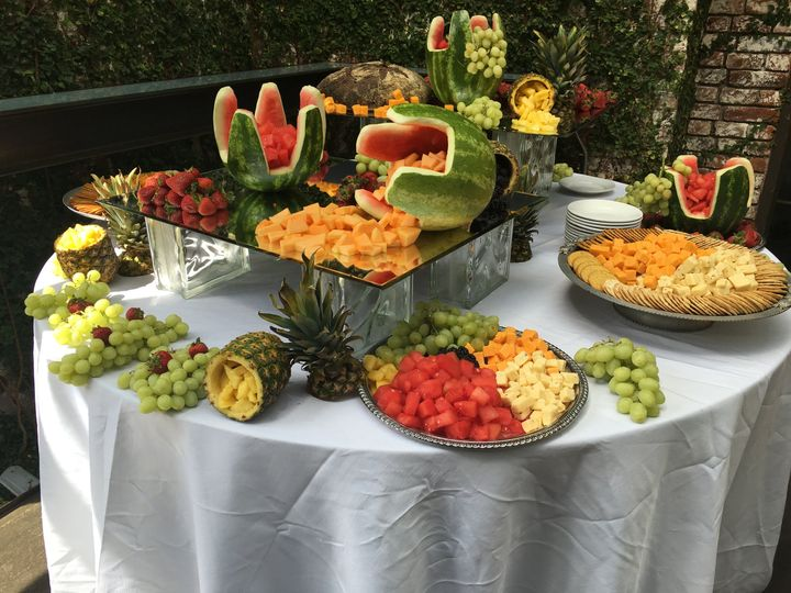 Tmx 1476904131548 Pic Cheese  Fruit Station Valley Stream wedding catering