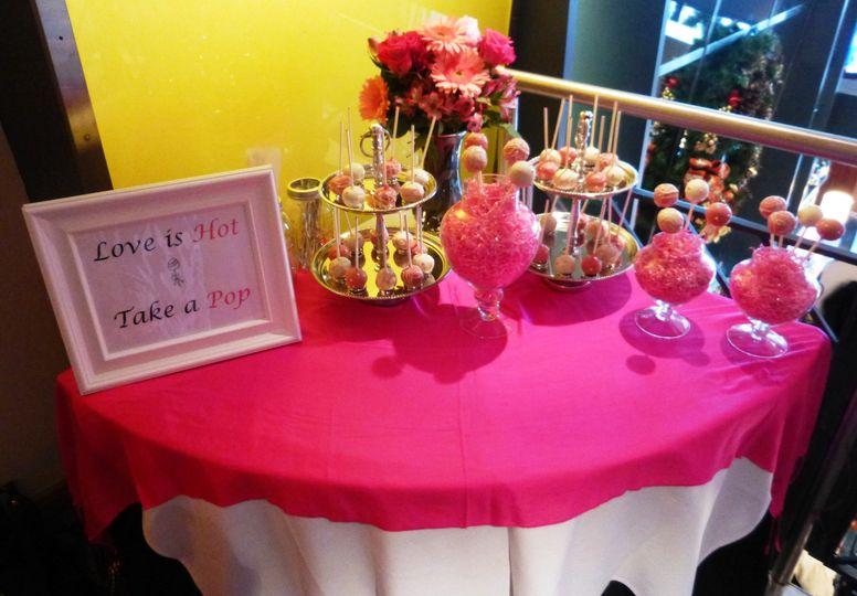 Cakepop dessert display