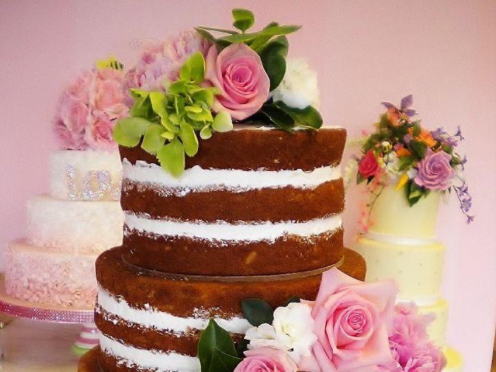 Tmx 1458411121849 Dark Naked Cake Montclair wedding cake