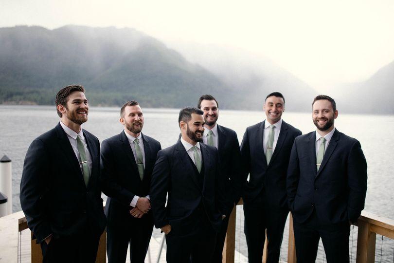 Lake Cushman, WA Wedding