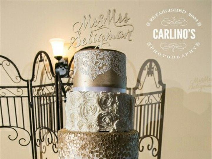 Tmx 1441215530448 Christine Wedding Cakelogos Richmond, TX wedding cake