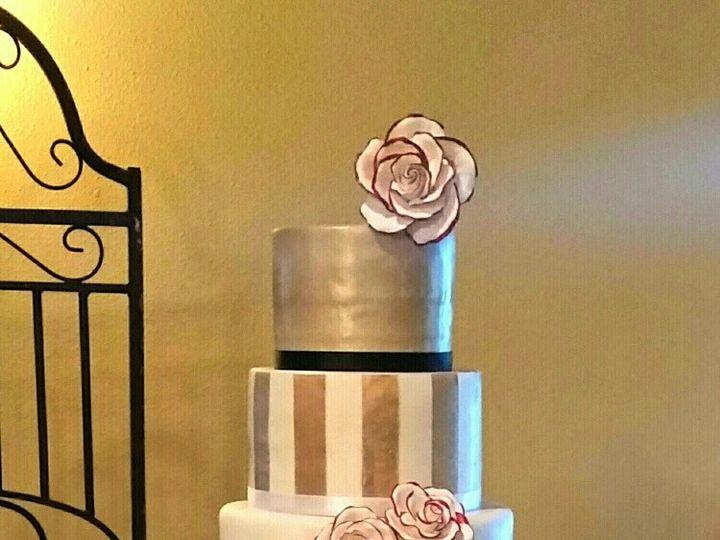 Tmx 1446459758296 Brookecolton Khoury Richmond, TX wedding cake