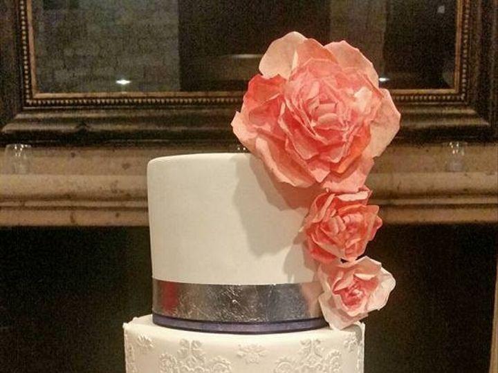 Tmx 1453006349965 Erinallenwedding Richmond, TX wedding cake