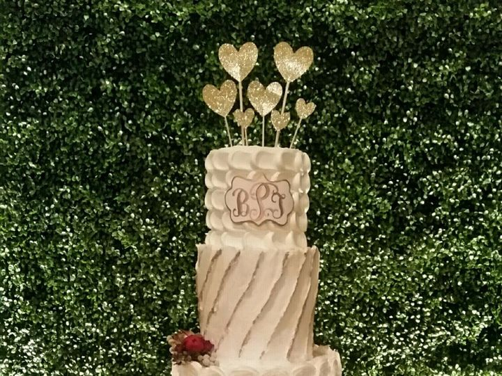 Tmx 1453094506831 Brittanywedding Cake Richmond, TX wedding cake
