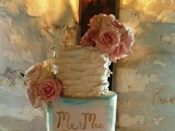 Tmx 1465103055906 Butter Cream And Marble Wedding Cake Richmond, TX wedding cake