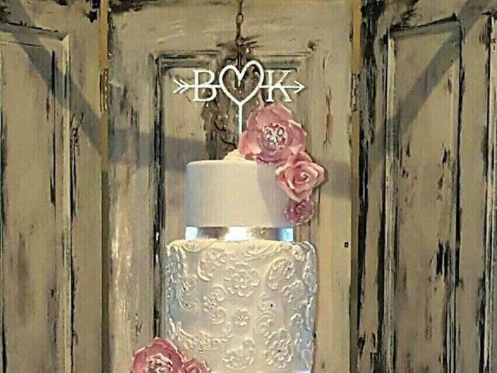 Tmx 1485314623531 Billy  Kaykay Richmond, TX wedding cake