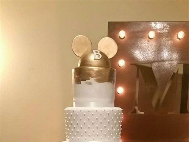 Tmx 1485314633797 Brookes Disney Wedding Cake Richmond, TX wedding cake
