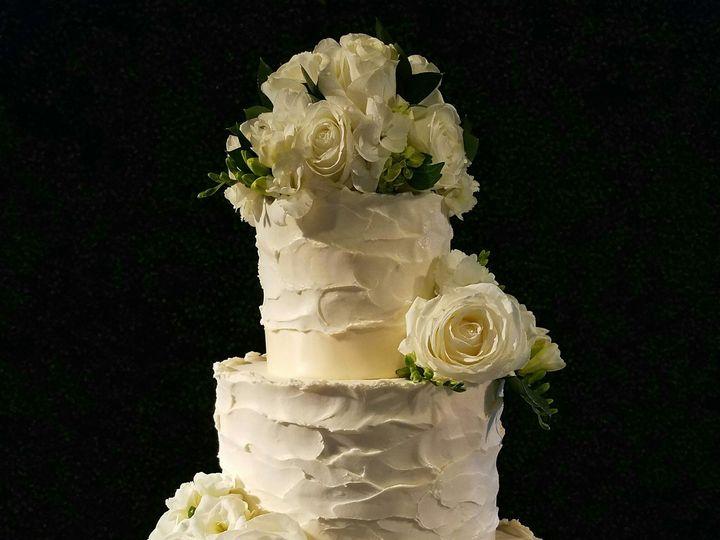 Tmx 1496158205454 Claire Butter Cream Wedding Cake Richmond, TX wedding cake