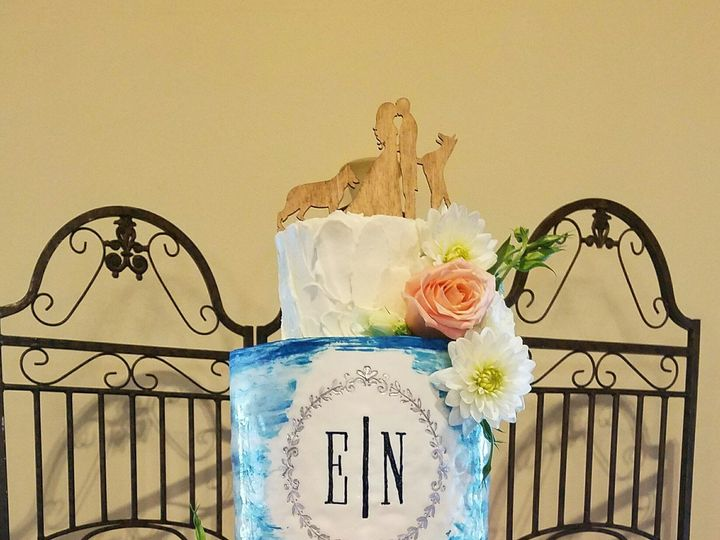 Tmx 1499402844293 Ellierosenthalwedding Cake Richmond, TX wedding cake