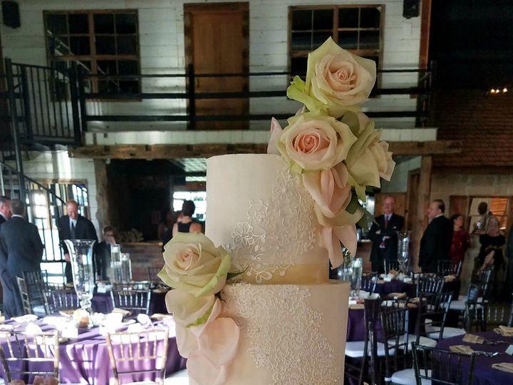 Tmx 1509546107806 Randi Edible Lace Wedding Cake Richmond, TX wedding cake