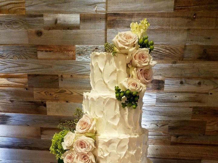 Tmx 1509546322367 Tracy Butter Cream Wedding Cake Richmond, TX wedding cake
