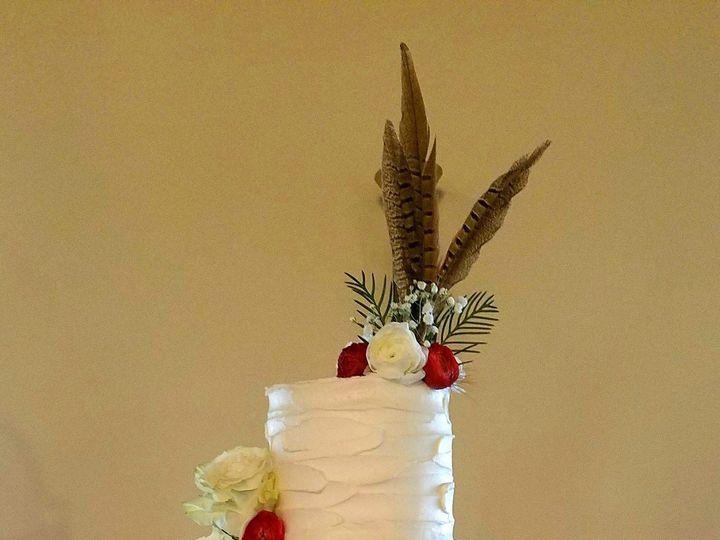 Tmx 1510366226216 Deer Silhouette Chalkboard Wedding Cake Richmond, TX wedding cake