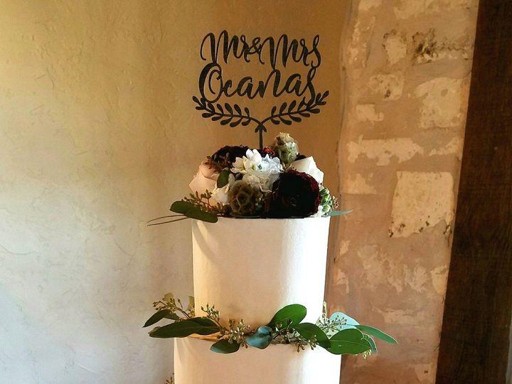 Tmx 1512018363714 Ashly Butter Cream Wedding Cake Eucalyptus Flowers Richmond, TX wedding cake