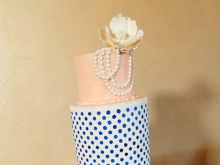 Tmx 1517101614 571623ad84ed6e29 1517101612 00d32eb39e884e33 1517101606649 1 Mary Vintage Weddi Richmond, TX wedding cake