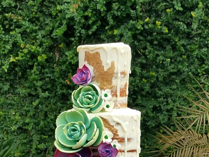 Tmx 1517101759 4573ada00b25d4c1 1517101757 47d1f14c3ea9aa6d 1517101753543 2 Agave Naked Cake Richmond, TX wedding cake