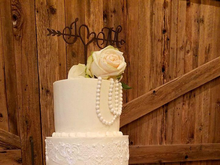 Tmx 1519783331 Fc30b8dcaa6439c2 1519783329 Fe2b805eab4738fd 1519783329483 1 Edible Lace Butter Richmond, TX wedding cake