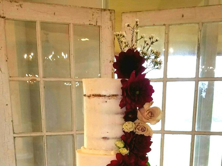 Tmx 1519783423 5bcf0ea6cc2a1647 1519783422 11971ee7d84cfb59 1519783431422 2 Naked Wedding Cake Richmond, TX wedding cake