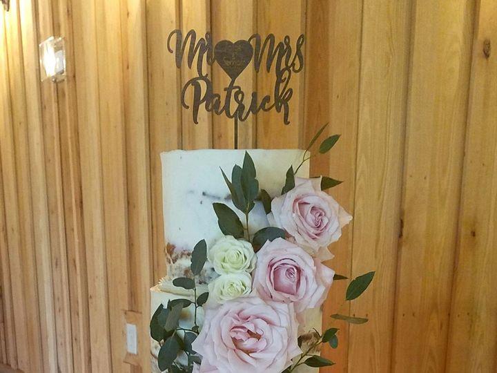 Tmx 1531255576 82cfa84ef1632c35 1531255574 0df7cf297272fd2e 1531255563227 3 PaigeBlueSlateRose Richmond, TX wedding cake