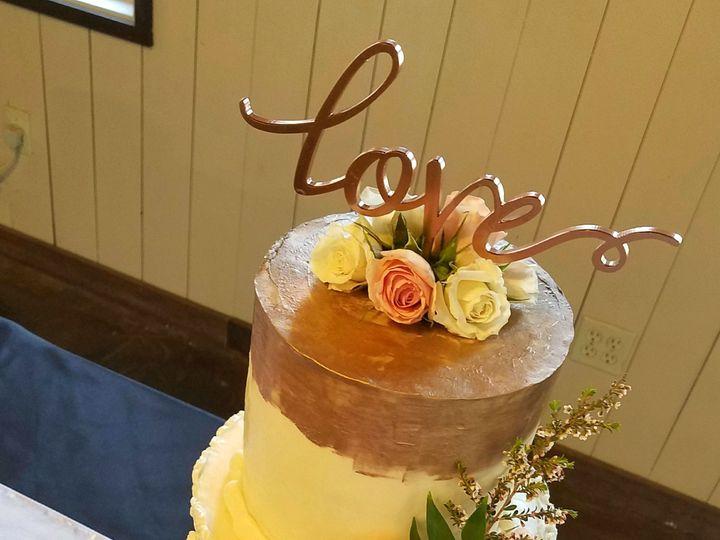 Tmx 1533870251 Db3f903a4248eae4 1533870249 E8afad84870473fe 1533870241771 2 Rose Gold Wedding  Richmond, TX wedding cake