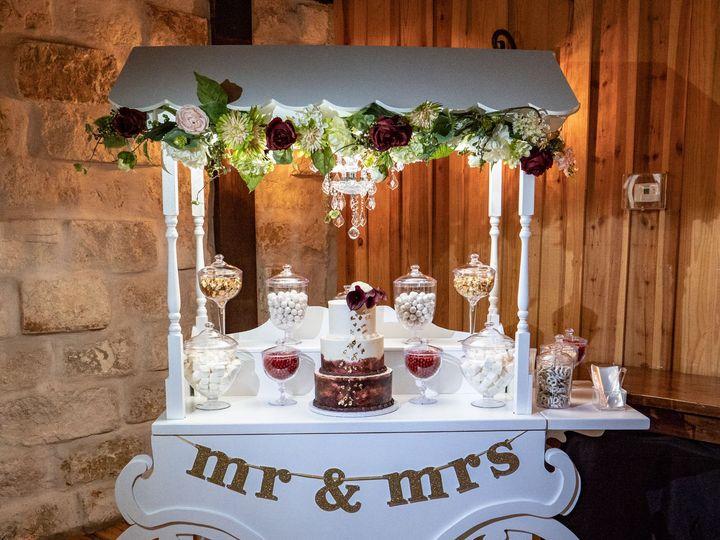 Tmx 1535724487 12b25f79c0f16e06 1535724485 C53e37f2d20e47fc 1535724480662 1 Mr Mrs Wedding Cak Richmond, TX wedding cake