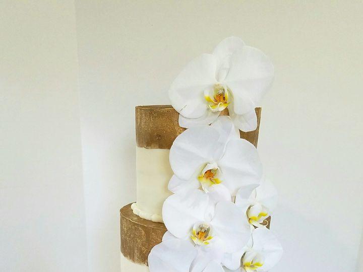 Tmx 1539547451 6aca2a812ee94dd7 1539547449 B5b4ed546b445759 1539547441344 1 Butter Cream Cake  Richmond, TX wedding cake