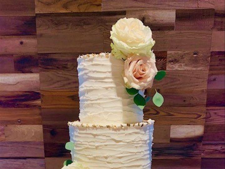 Tmx Butter Cream Wed Cake Gold Accents 51 692602 1572196163 Richmond, TX wedding cake