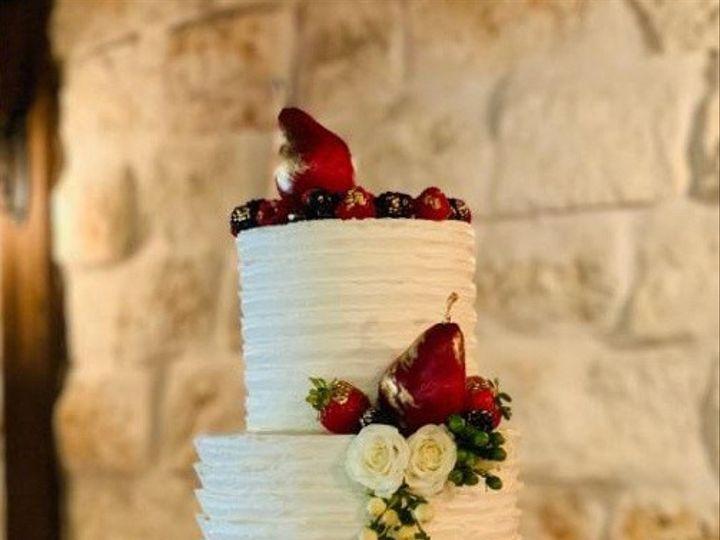 Tmx Butter Cream With Fruit Wedding Cake 51 692602 1571675089 Richmond, TX wedding cake