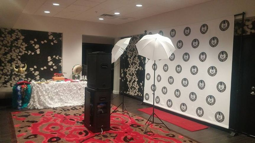Step n' Repeat (Open booth) @ the Marriott in Beverly Hills