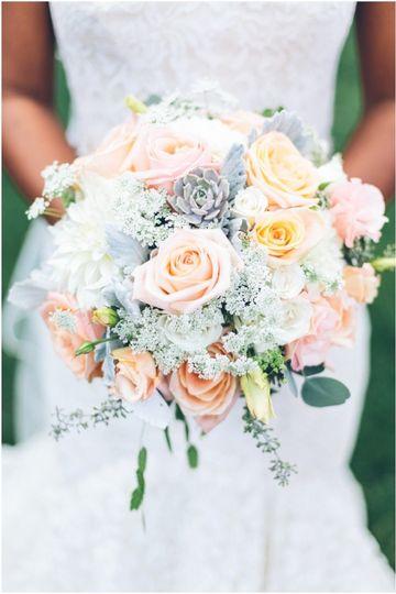 Soft tone bouquet