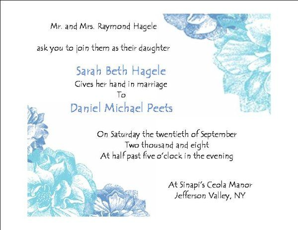 Tmx 1258043099578 Invitaion North Salem wedding invitation