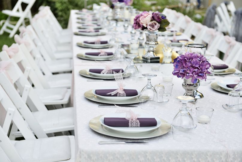 Levans Catering Catering Winter Springs FL WeddingWire - Catering table setting