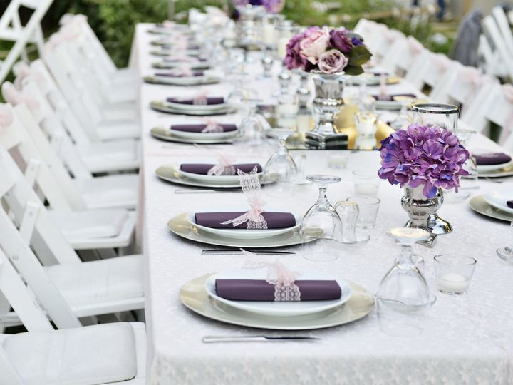 Tmx 1419364037869 White Table Setting Winter Springs, Florida wedding catering