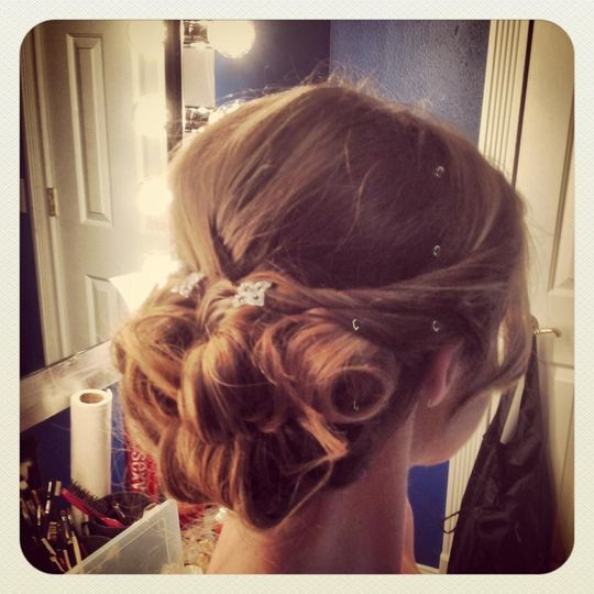 jackie wedding hair