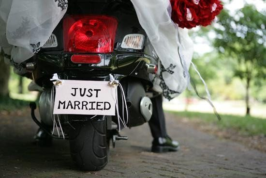 weddingwire scooter