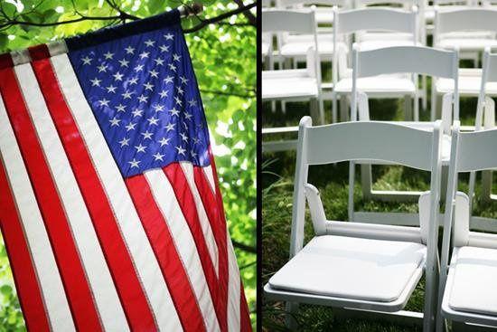 Flag Chairs