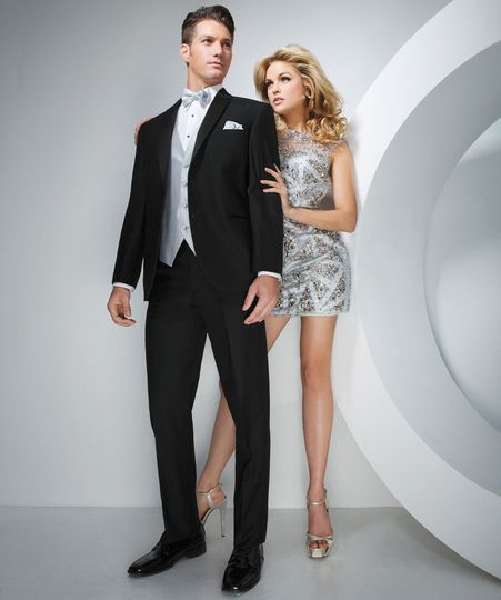 Slim fit 2 button notch starting at just $129.95 with  your wedding discount!