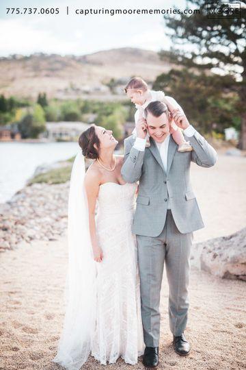 Bride + Groom + 1 = Family