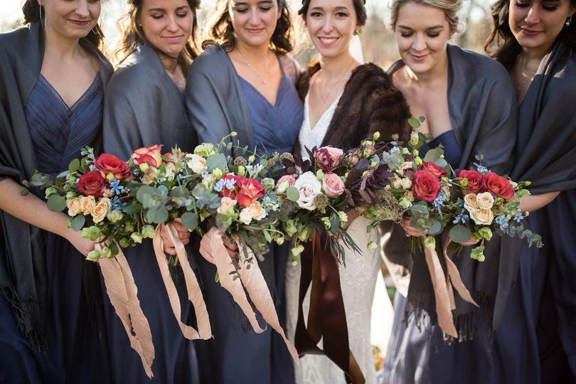 Bridal party     @kaylacapture