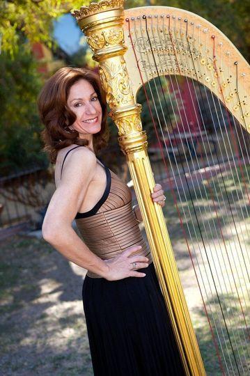 Christine Vivona, Harpist