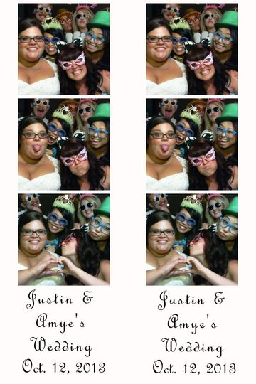 Friends of the Bride!  We can accomidate large groups too!