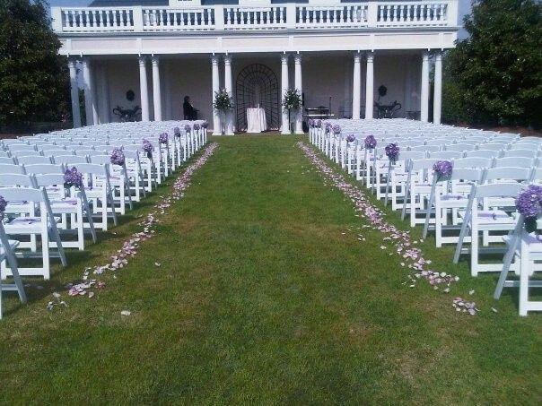 tanneh wedding aisle