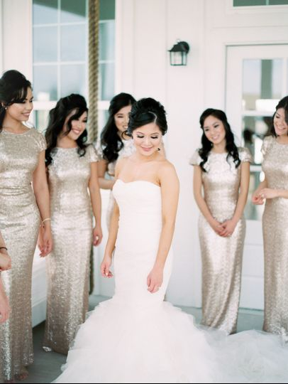 Sparkle Bridal Party